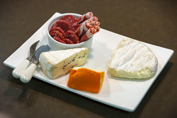 Her French-upbringing mandates a cheese and meat, to be consumed with crusty bread of course (and wine for those who drink)