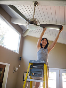 Valerie decides to clean the fans for the first time in like forever