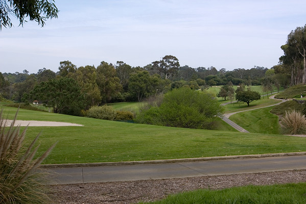 I used to train for cross country on the streets around this golf course