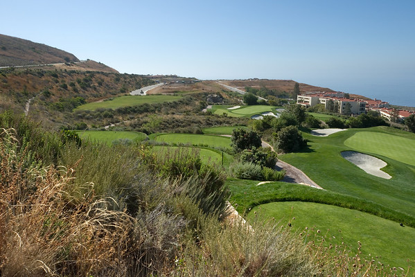 This spot overlooks Trump National Golf Course (the club I still think of as Ocean Trails) looking southeast towards Trump National Estates, luxury residences still under construction