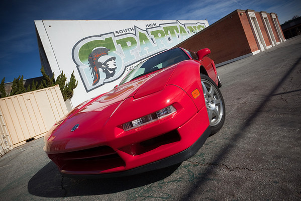 My NSX dream started more than 18 years ago...while I attended THIS high school