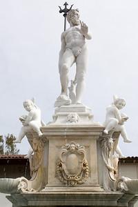 A familiar statue