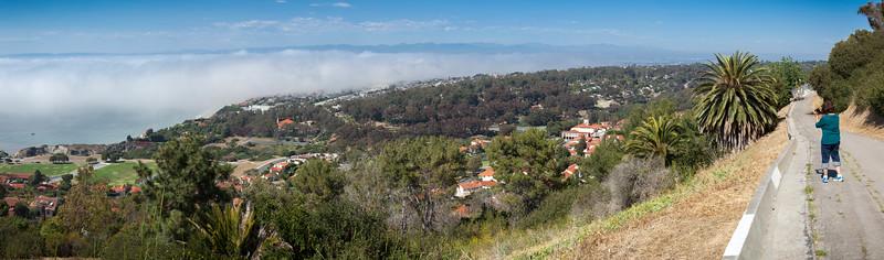 Via Campesina - Paseo del Sol Trail Panorama (hugin auto-stitched)