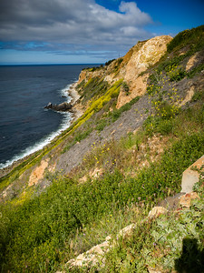 View of Point Vicente from Toveemor Trail