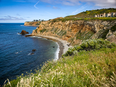 We continue along the bluffs towards Terranea...Point Vicente Lighthouse comes into view
