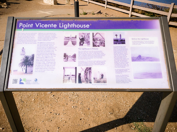 Facts about Point Vicente Lighthouse