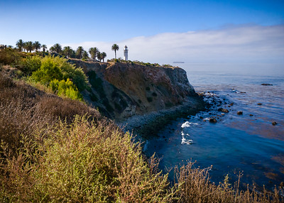 Getting closer to Point Vicente Lighthouse