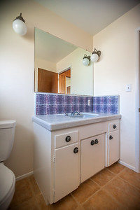 Half bathroom near entry