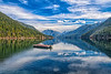 March 21, 2021 - Lake Crescent reflections, Olympic National Park, WA