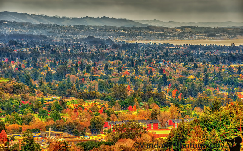 January 2, 2013 - a view from a hill in UC Santa Cruz, shot a few days back<br /> <br /> looks best in X3L !