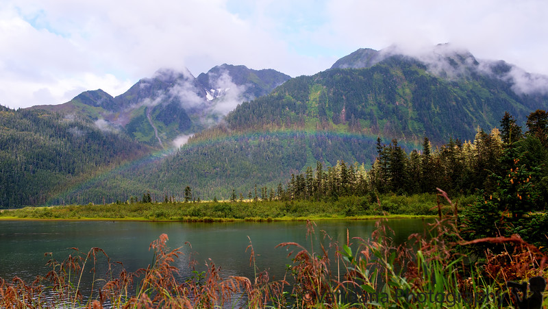 August 11, 2015 - a beautiful rainbow to end our lovely day in Cordova, AK