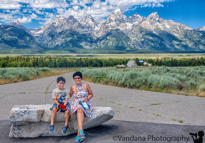 September 23, 2020 - V and A at the Tetons ! Unforgettable trip !