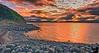 July 29, 2007 - Sunset at Sand Point, Alaska
