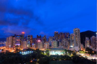 Hong Kong. Victoria Park, Causeway Bay.