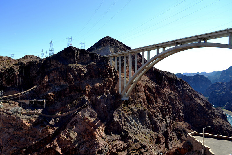 New Bridge over Hoover Dam in Nevada 2