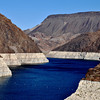 Water Resevor at Hoover Dam in Nevada
