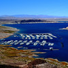 Marina at Lake Mead near Hoover Dam in Nevada