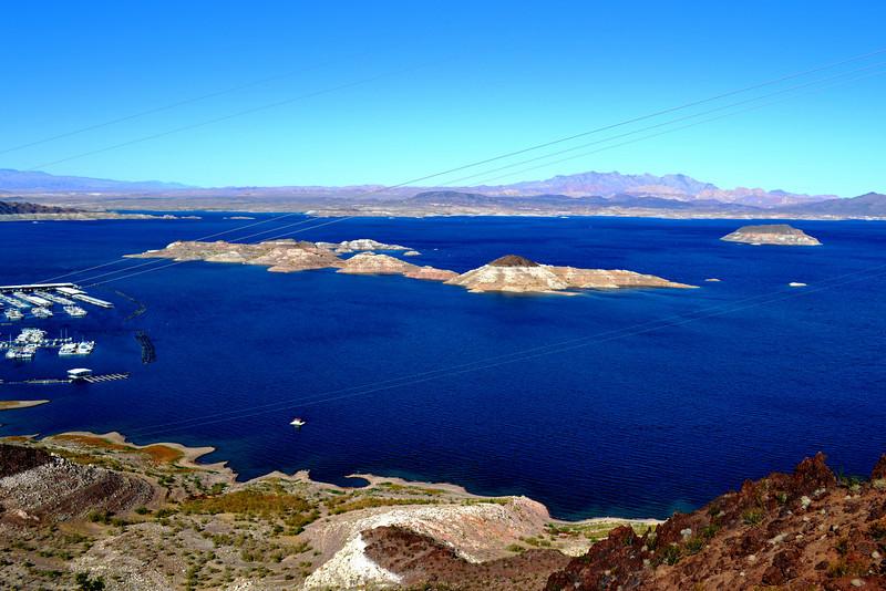 Lake Mead near Hoover Dam in Nevada