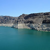Lowest Water Level Since Its Opening in 1937 at the Hoover Dam in Nevada