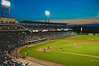 Pawtucket Red Sox take on the Syracuse Chiefs in International League Baseball action at Alliance Bank Stadium in Syracuse, New York on a balmy July evening.<br /> <br /> Scott Thomas
