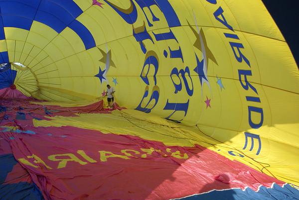 Hot Air Balloon Ride 4-28-12