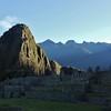 First Light on Wayna Picchu