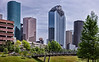 Downtown Houston on a May Day