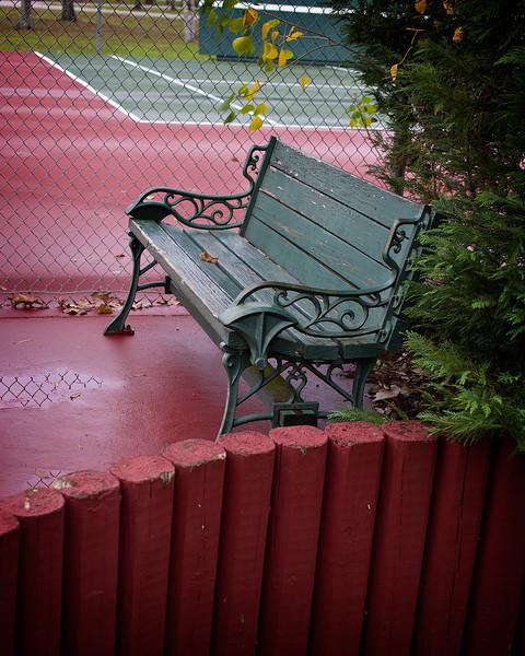 Randolph Park Bench