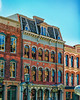 Building on Strand Street in downtown Galveston