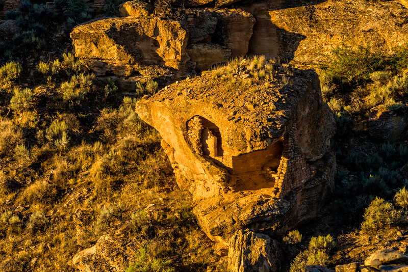 Eroded Rock House | Hovenweep