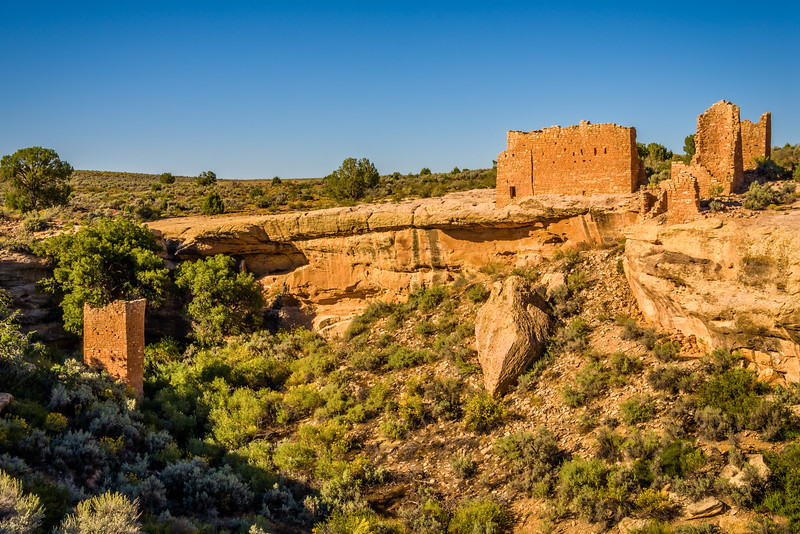 Square Tower | Hovenweep Castle
