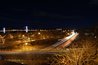 Overlooking the Mid-Hudson Bridge and Route 9.