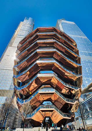 April 3, 2019 - New York, NY -Hudson Yards / The Shed / The Vessel  Photographer- Robert Altman Post-production- Robert Altman