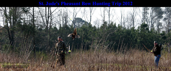 St Jude Pheasant Bow Hunt 2012