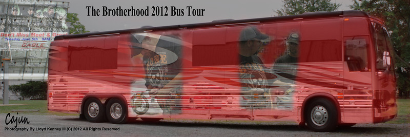 The Brotherhood 2012 Bus Tour