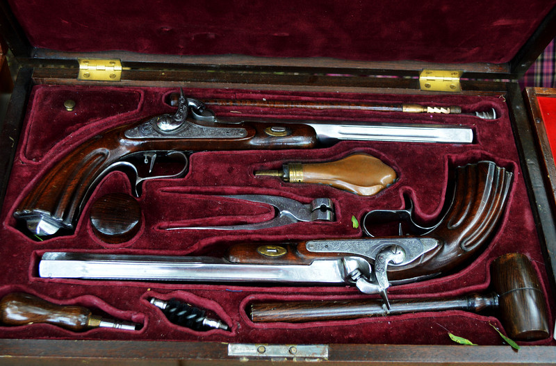Dueling Pistols From the Civil War Period