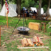 Campsite for American Team at Huntington Beach Annual Civil War Reenactment