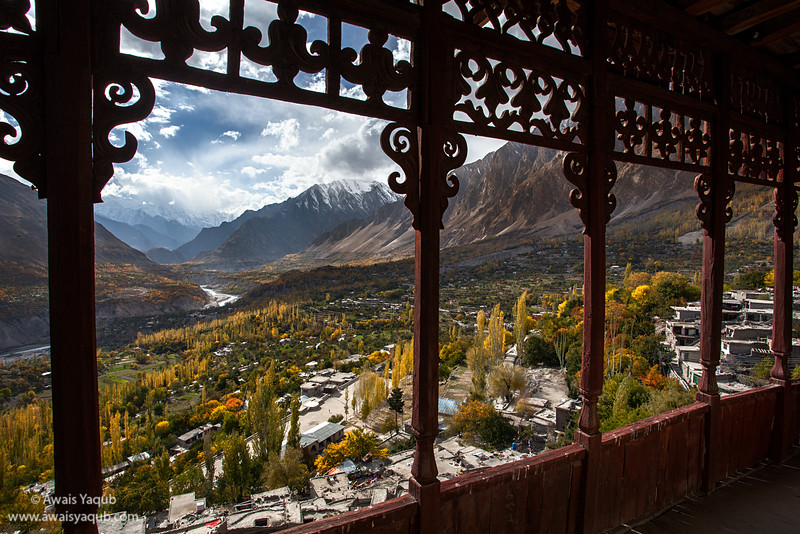 A view from ancient Altit Fort, Hunza
