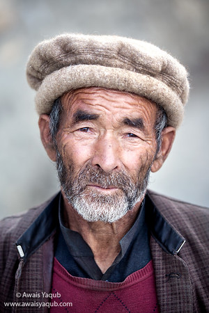 Old man from Nagar
