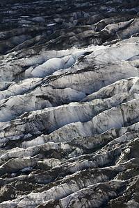 Closeupf of Hooper glacier in Nagar Pakistan