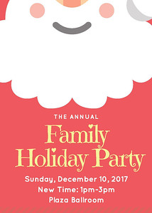 Hyatt Family Holiday Party 2017