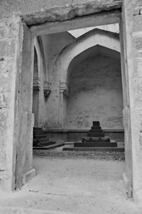 Last of the Qutb Shahi tombs. It is incomplete and ignored.