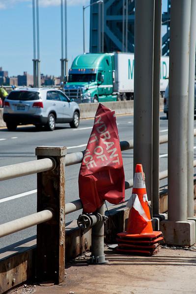 Stacked on the GW Bridge, NYC
