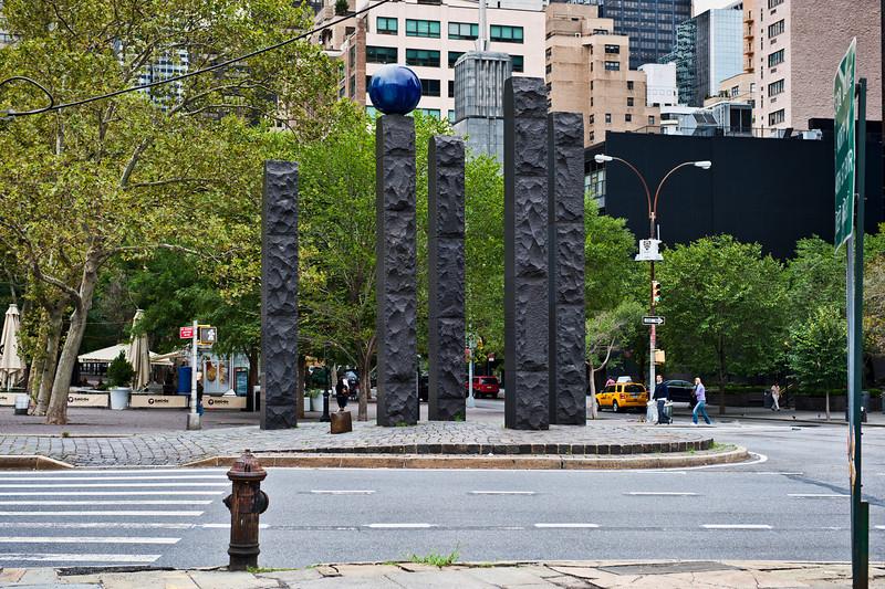 NYC, UN Plaza