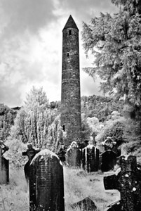 ROUND TOWER--GLENDALOUGH, CO. WICKLOW  IRELAND