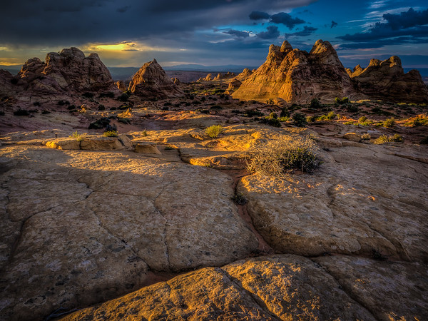 Sunset - South Coyote Buttes