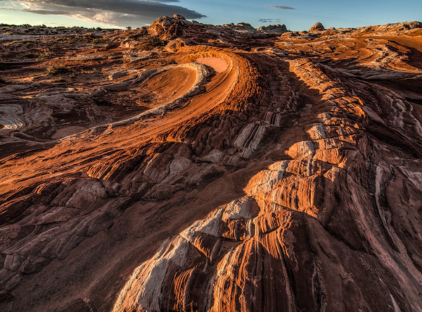 Twisted Rock Formation