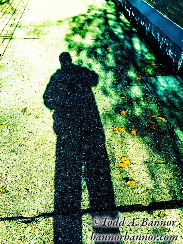 Shadow of my former self.