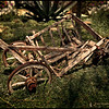 An old childs wagon, sadly neglected! But great for photos!