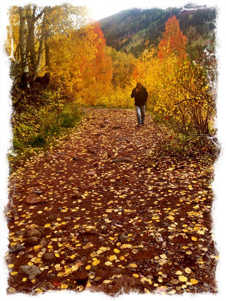 Steve on Bear Creek Falls Trail